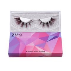 Halloween Color Mink Lashes CL10