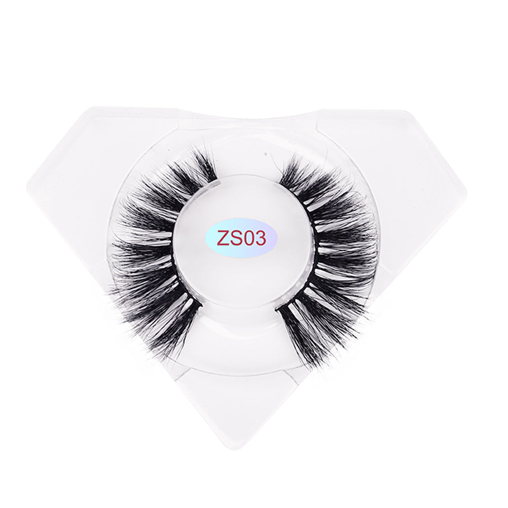 8D Mink Lashes Luxurious Diamond Box ZS03