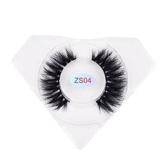 8D Mink Lashes Luxurious Diamond Box ZS04