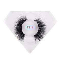 8D Mink Lashes Luxurious Diamond Box ZS11