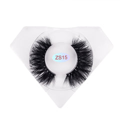 8D Mink Lashes Luxurious Diamond Box ZS15