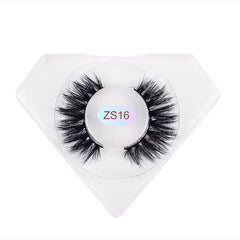 8D Mink Lashes Luxurious Diamond Box ZS16