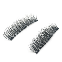 3 Magnets 3D Magnetic False Eyelashes With Quantum Lash Applicator Tool KS01-3