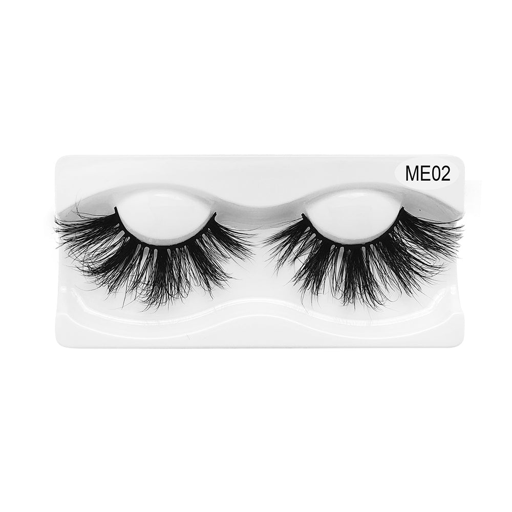 25MM Real Mink False Eyelashes ME02
