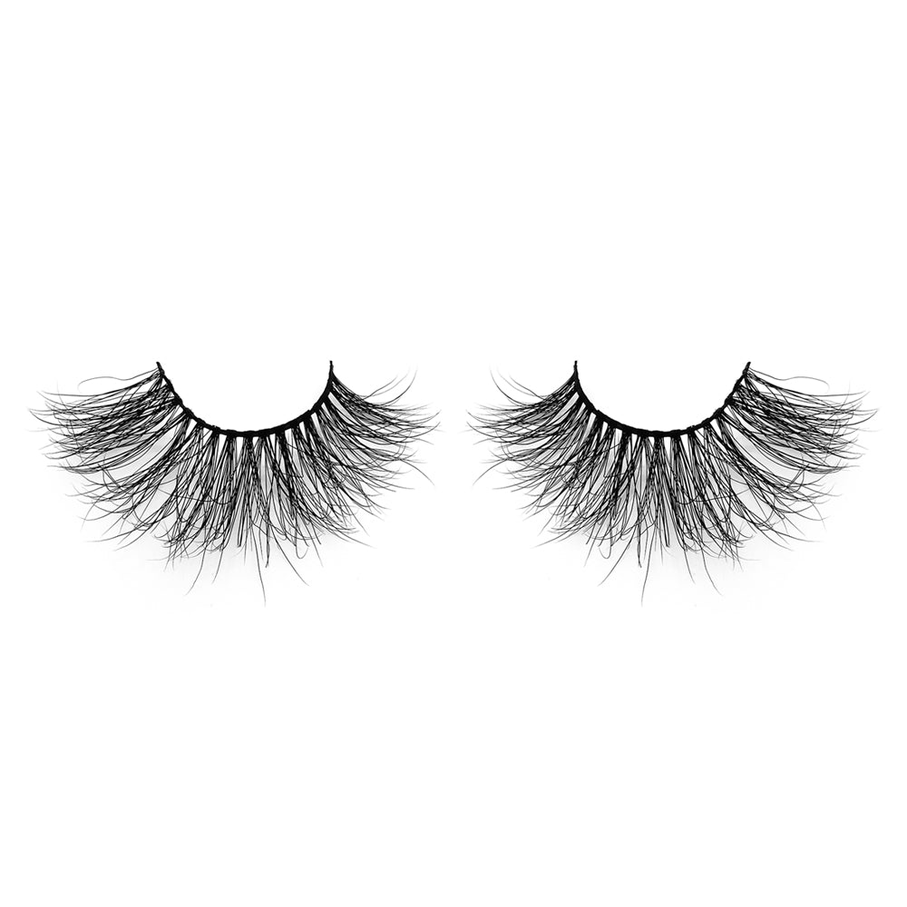 25MM Real Mink False Eyelashes ME03 (Pink Box)