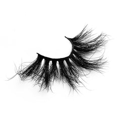 25MM Real Mink False Eyelashes ME05 (Pink Box)