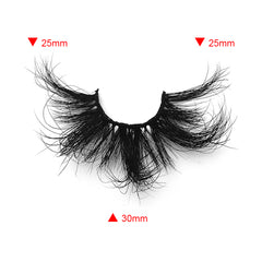 25MM Real Mink False Eyelashes ME08