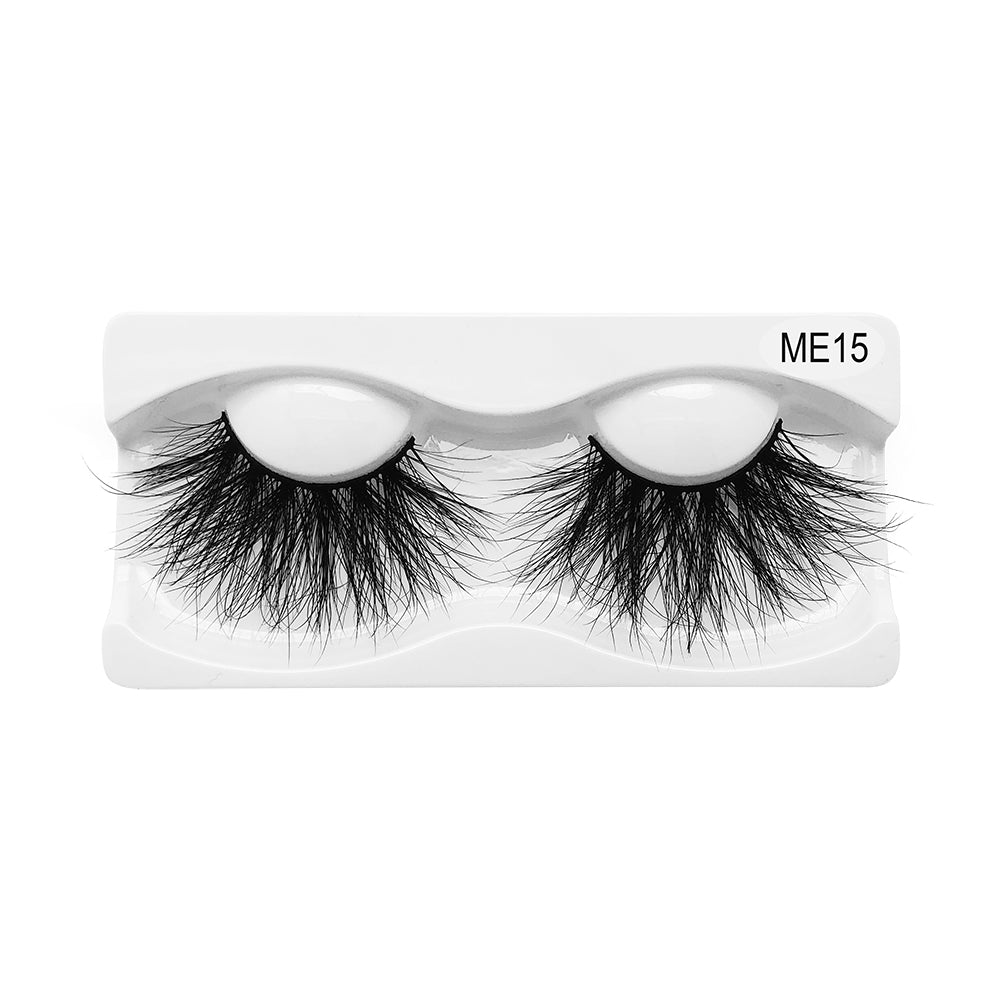 25MM Real Mink False Eyelashes ME15
