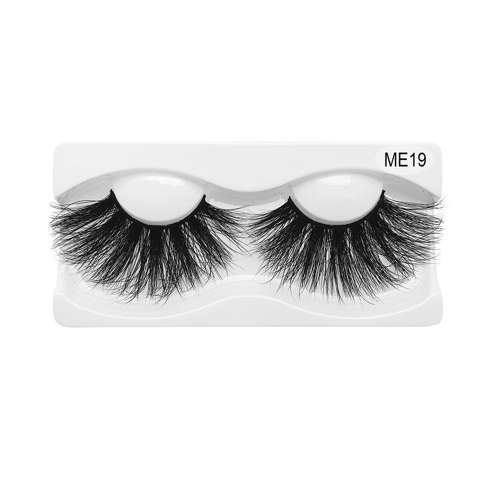 25MM Real Mink False Eyelashes ME19