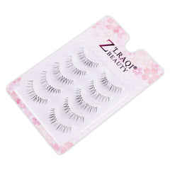 Multipack Naturals False Lashes with Invisiband, 5 Pairs N-21