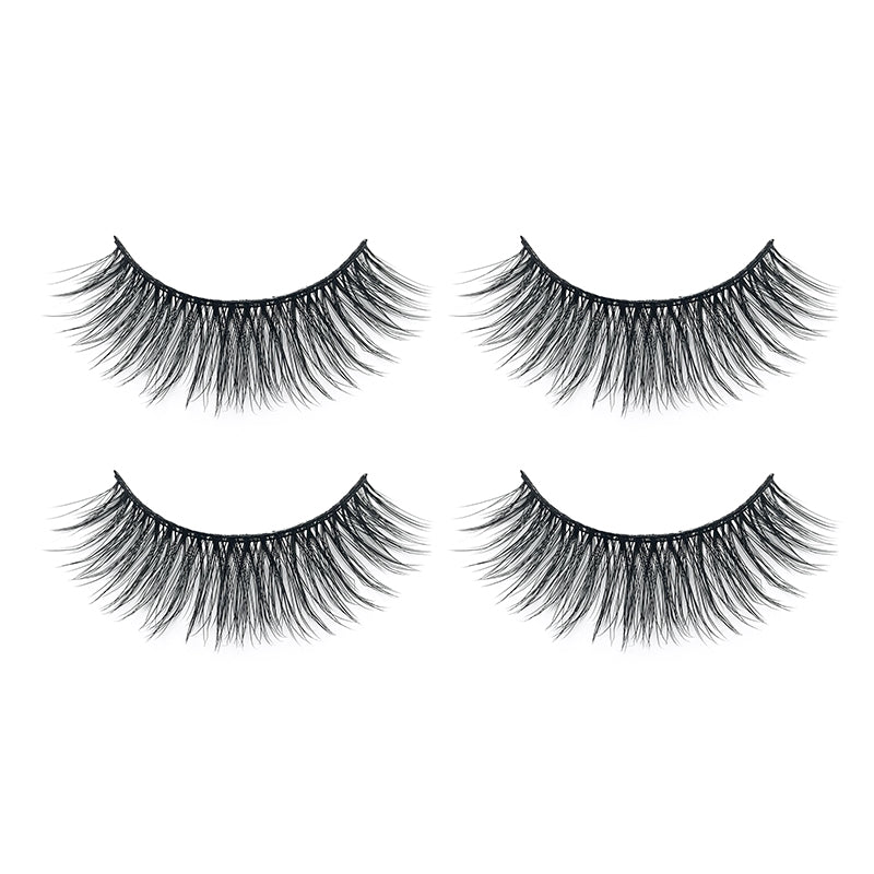 Faux Mink False Lashes Pack of 2 Pairs T04