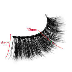 Faux Mink Volumn False Eyelashes 14 Pairs SD-04 &SD-06
