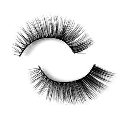 Natural 3D Faux Mink Lashes Colorful Package with Lash Brush V12