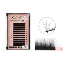 Volume Eyelash Extensions B C Curl 0.05mm Single Length 8-12mm