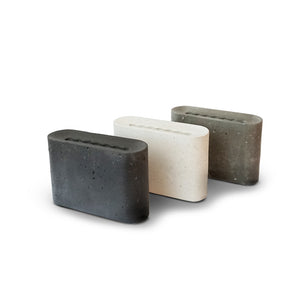 Slim Vase Mini - Stone grey
