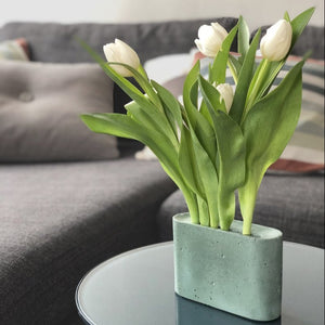 Slim Vase Mini - Dusty green