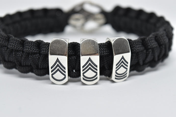 Sergeant First Class BEAD for paracord bracelet