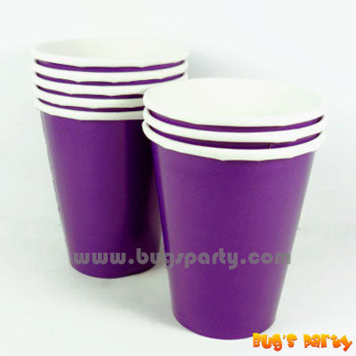Purple color Paper Cups
