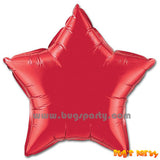 Red Star shaped balloon