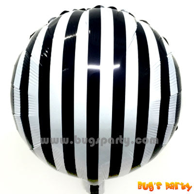 balloon with Black stripes
