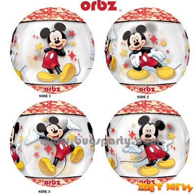 Mickey Portrait ORBZ balloon