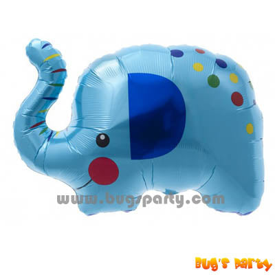 Blue Elephant Giant Balloon