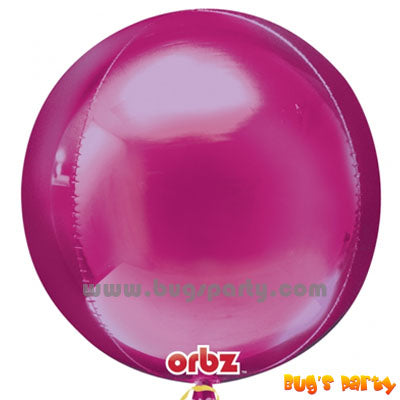 Bright Pink ORBZ Balloon