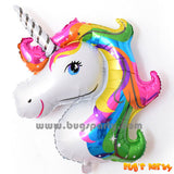 Rainbow color Unicorn balloon