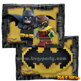 Batman and Robin Lego balloon