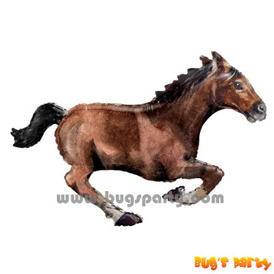 Galloping Horse shaped foil balloon