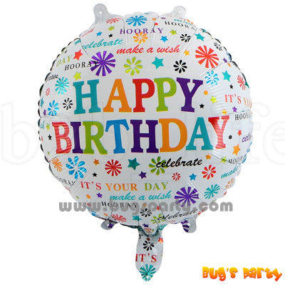 Happy Birthday messages balloon