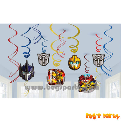 Transformers Party Swirls