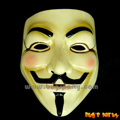 Yellow Guy Fawkes, Vendetta Mask