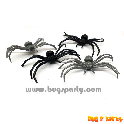 fake black widow spiders assortment