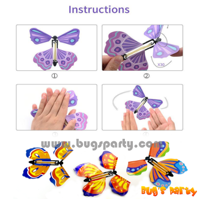 flapping butterfly novelty