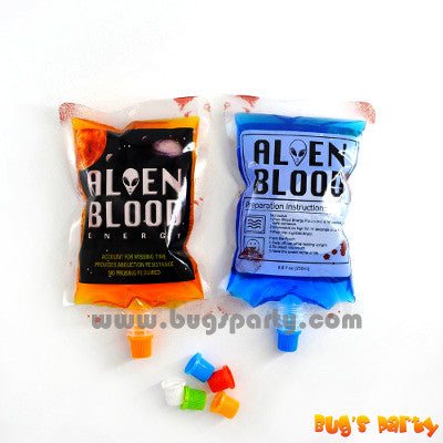 Halloween realistic blood bag Alien blood