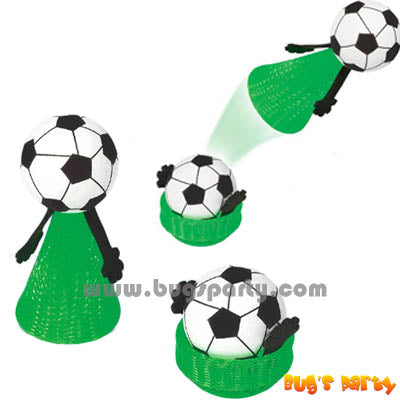 Soccer party favors, hoppers