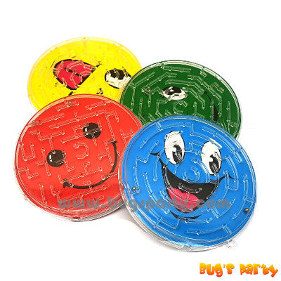smiley maze face puzzle party favors