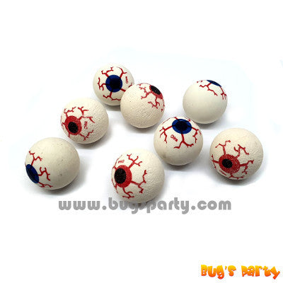 high bouncing balls, eye ball design