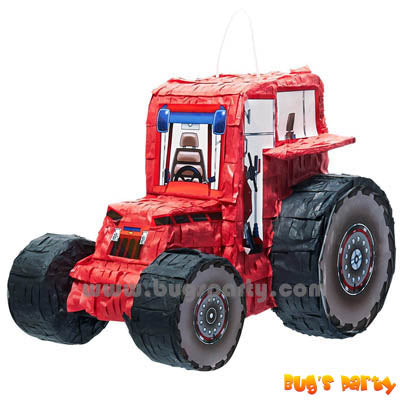 Red Tractor Pinata
