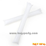 White Color Inflatable Rally, cheering pong bong Sticks