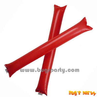 Red Color Inflatable Rally, cheering pong bong Sticks