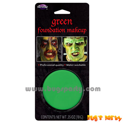 Foundation Make Up Green