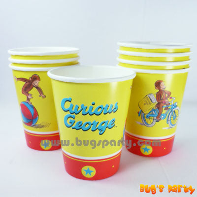 Curious George Cups