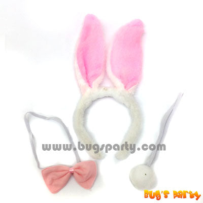 pink rabbit costume accessories
