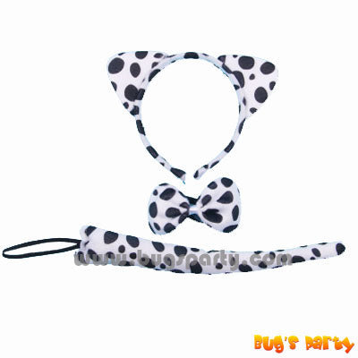 black spots dog costume accessories