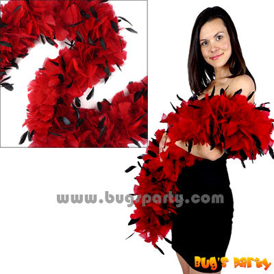 Turkey Red Black Boa
