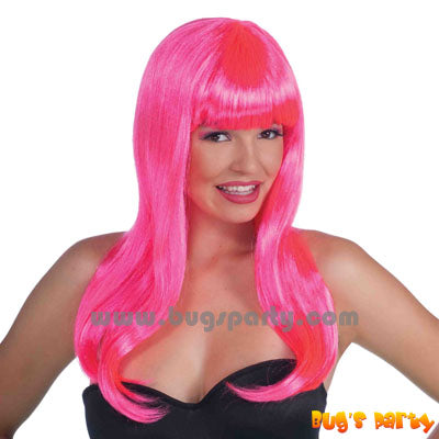 Colorful Neon Wig