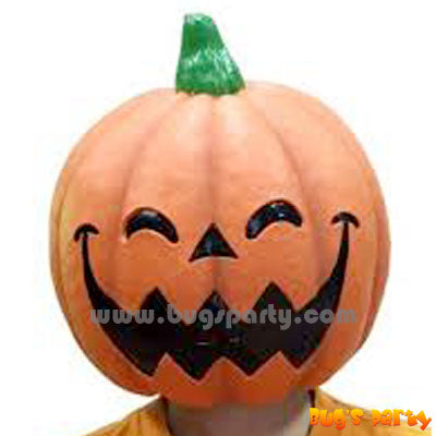 Rubber Pumpkin Head