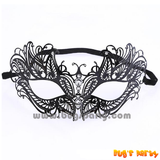 Metal die cut masquerade butterfly mask